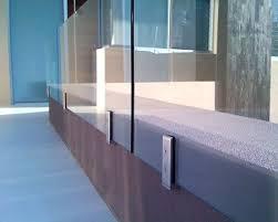 Frameless Glass Handrail Best 25 Glass Railing System Ideas On Pinterest Glass Balcony