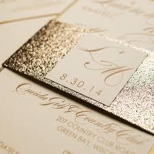 glitter wedding invitations chagne glitter wedding invitations chic shab