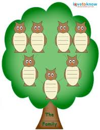 family tree clip templates clipart panda free clipart images