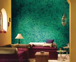 texture paint in living room home design