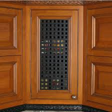 Cabinet Door Vents Hafele Decorative And Ventilation Lattice Grills Kitchensource