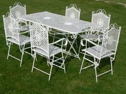 Wrought Iron Mesh Patio Furniture by Wrought Iron Patio Set Vintage A1h Bs8wnsl Sl1500 1024x1024