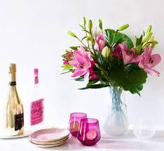 bouquet diy tropical floral arrangement diy bright bold palms and heat loving