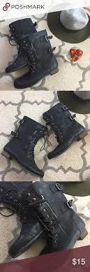 s lace up combat boots size 11 black womens combat boots size 11 w 11 w s black combat