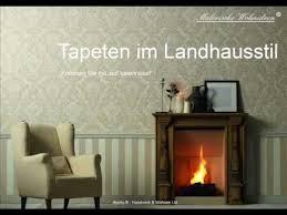 tapeten landhausstil tolle tapeten landhausstil deutsche deko modern