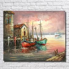 wholesale boutique home decor aliexpress com buy ship oil painting wall art home decoration