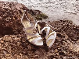 Wedding Shoes Off White Linea Raffaelli Shoes Collection Bridal Shoes Off White U0026 Gold