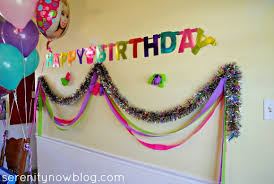 Birthday Party Decoration Ideas Simple Birthday Decoration At - Birthday decorations at home ideas