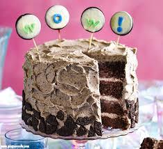 healthy birthday cake recipes uk