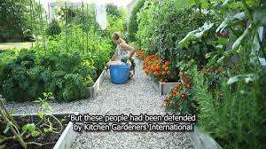 Kitchen Garden Designs Drummondville S Front Yard Vegetable Garden