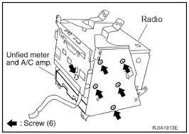 radio ac controls u0026 lcd screen out nissan murano forum