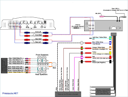 car stereo power amplifier wiring diagram electric system