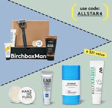 ls plus open box coupon code birchbox man coupon free allstar kit with subscription hello