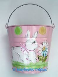 painted easter buckets painted easter buckets by megdoodles on etsy for the
