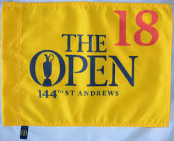 Golf Flags 2015 Official St Andrews British Open Golf Flag Ebay