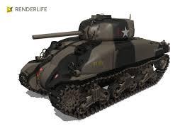 Interior Design Jobs Ma by 3d Model Sherman Tank M4a1 Cgtrader