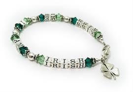 leaf charm bracelet images Shamrock bracelets irish bracelet necklaces earrings with 4 jpg