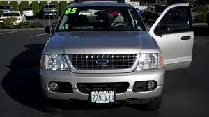 Ford Explorer 3 Rows - 2005 ford explorer xlt silver 4wd art gamblin motors tim smitty