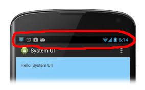 remove bar android android how to hide status bar without actionbar stack overflow
