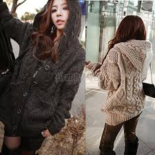 plus size cable knit sweater 2014 brand han knitted cardigan womens winter autumn plus size
