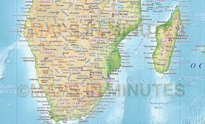 Southern Africa Map Digital Vector Africa Political Map 10 000 000 Scale In