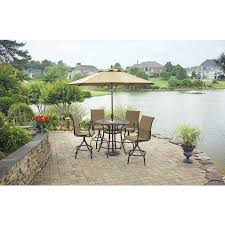 Patio High Table And Chairs Best 25 Round Patio Table Ideas On Pinterest Outdoor Dinning