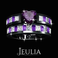 black and purple engagement rings best 25 purple engagement rings ideas on sapphire