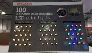 costco ge itwinkle 36 light wi fi color changing led light set