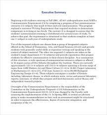 sample executive reports marketing plan executive summary