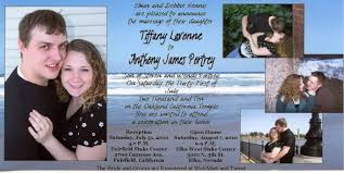 lds wedding invitations the ex mormon forums