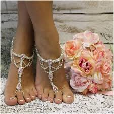 wedding barefoot sandals something pink barefoot sandals pink foot jewelry pink