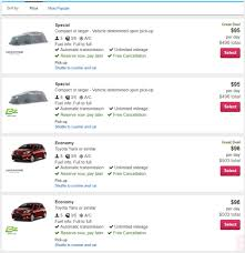 rent a price hertz canceling some car rental reservations eclipse weekend