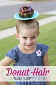 Kids Donut Halloween Costume Donut Hair Wacky Hair Halloween Michaelsmakers