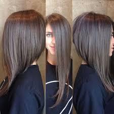 funky asymetrc bob hairsyles best 25 long asymmetrical hairstyles ideas on pinterest long