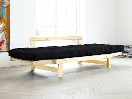 canap matelass canape matelas canape convertible canapac en bois avec futon beat