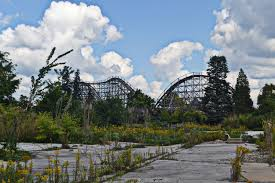 Six Flags In Winter Amusement Parks And Theme Parks In Ohio