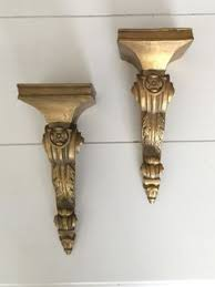 Gold Wall Sconce Candle Holder Stunning Pair Of Bronze Ormolu Aviary Wall Sconces Candle Holders