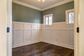 Wainscoting Office Craftsman Style Wainscoting Home Office With St Louis Specialty