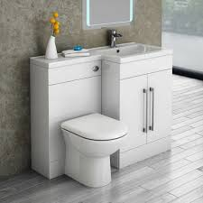 Cloakroom Vanity Sink Units Valencia 1100 Combination Basin U0026 Wc Unit With Round Toilet Online