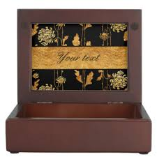 gold foil gift boxes glamorous faux gold foil gift boxes keepsake boxes zazzle