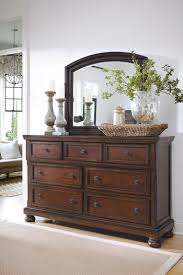 a beautiful dresser and mirror set from ashley furniture for the
