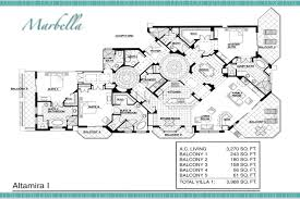 marbella condos floor plan 3343 s atlantic ave 32118 daytona