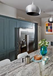 how to design a kitchen around an american fridge freezer new