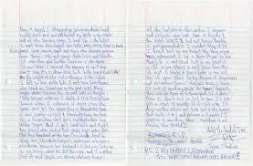 tupac shakur u0027s handwritten letter sold for over 170k saint heron