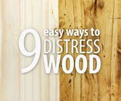 how to make cabinets look distressed 9 easy ways to distress wood 9 steps with pictures