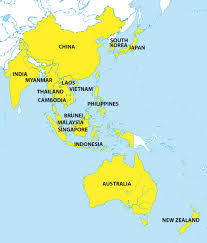 regional map of asia china to join rcep creating free trade area with asean