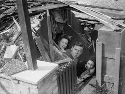 backyard bunkers of the blitz pictures of how london families