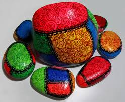 1050 best painted stones rocks rock art mosaics images on