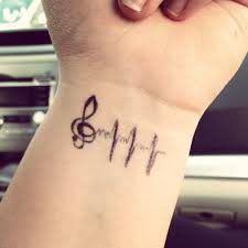 100 musical tattoo designs for guys band music symbol