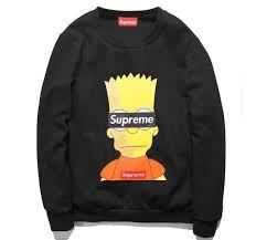 bart sweater supreme bart sweatshirt products bart